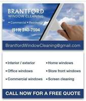 BRANTFORD Window Cleaning