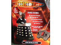 Darvos doctor who radio controlled rare collector item