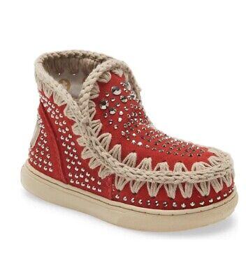 Mou Summer Eskimo Embellished Sneaker Boot US Size 1 EU Size 32