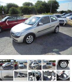 Vauxhall Corsa 1.2 SXi only 69000 miles 2003 model