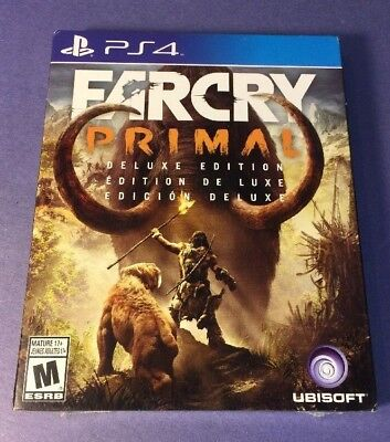 Far Cry Primal DELUXE Edition [ STEELBOOK Package ] (PS4) NEW for sale  Shipping to Nigeria