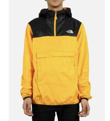 NWT Men's THE NORTH FACE FANORAK JACKET size 2XL NF0A3FZL TSF yellow black
