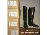 100% leather handmade Riding Boots