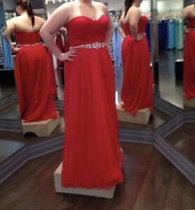 Size 16 Red Prom Dress