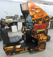 VIDEO DE COURSE / RACING GAME ET PINBALL