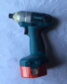 MAKITA IMPACT DRIVER 14.4V Cordless for sale , fully working condition, 3.0 AH Battery, no charger,