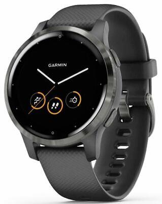 Garmin vívoactive 4S, Smaller-Sized GPS Smartwatch, 010-02172-11