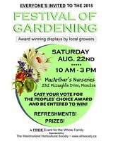 Festival of Gardening - Free Event for the Whole Family