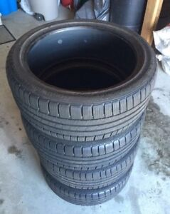 225/40/18 low profile Continental winter tires