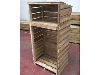 Heavy duty log shed/store, pressure treated