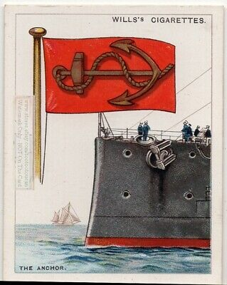 Anchor Symbol Used On Coat Of Arms Or Family Crest 1920s Ad Card
