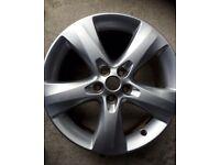 "Vauxhall Astra 17"" alloy"