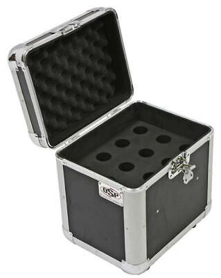 OSP MIC-CASE12 ATA Microphone Case, Holds 12 Microphones, Flight/Road Ready Road Ready Cases