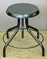 Backless Round Industrial Bar / Counter Stool
