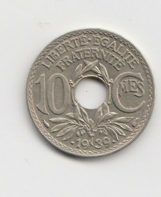 10 centimes Frankreich   1939  (1670)