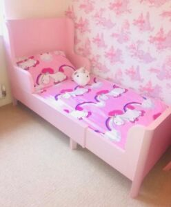 Pink IKEA Kids Bed