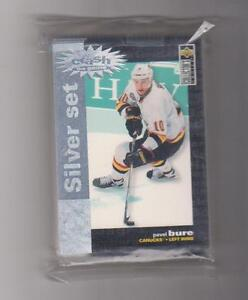 Carte hockey 95-96 Collector's Choise Crash the Game Argent(Z750