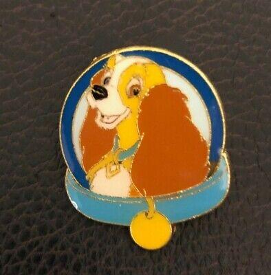 Disney Lady Walt Disney Pet Collars - Pet Tags Magical Mystery Series Pin