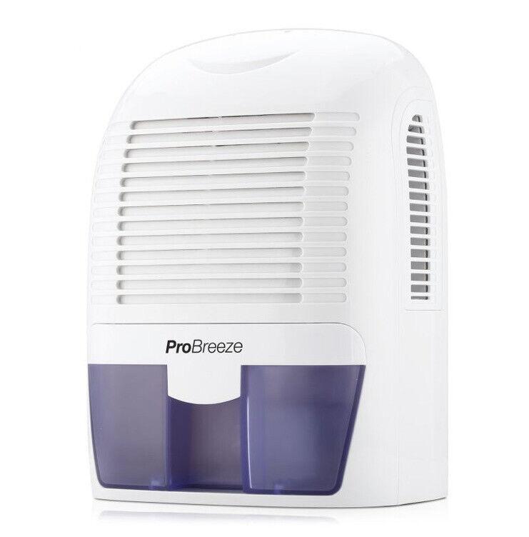 Pro Breeze PB-03-US Mini Dehumidifier, 2200 Cubic Feet, Port