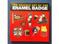 The Graphic Art of the Enamel Badge - softback book. Very good condition. Free Post to UK