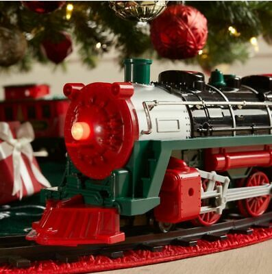 EZTEC Remote Control Holiday Express Christmas Collectible Train Set