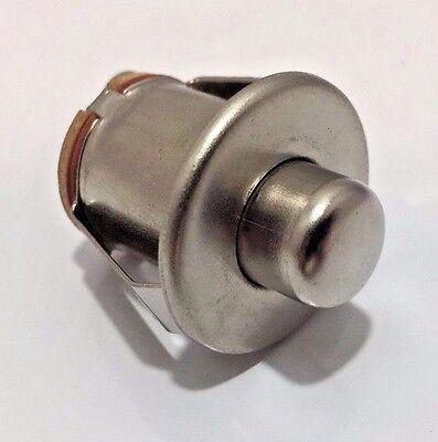 Custom Hot Rod Interiors - New Keyless Push Button Starter Switch Hot Rod Rat Rod Custom Dash