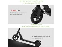 X8 Electric Scooter 20km range 350W Motor 15 km/h, Super shockproof Kick scooter with LCD display