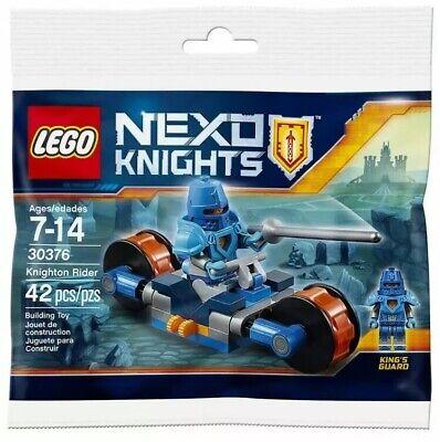 LEGO Nexo Knight 30376  Knighton Rider Polybag New. Sealed. RETIRED.