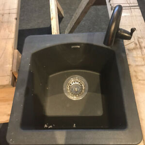 New Bar sink with faucet