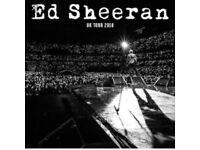 2 x Ed Sheran tickets - Manchester - 26.5.18