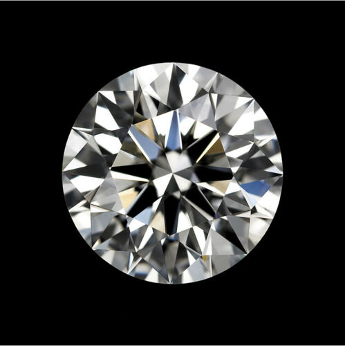 8.0mm 2.0ct white loose moissanite stone diamond D color VVS1 with certificate