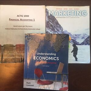 Business Administration NSCC 1st year Books