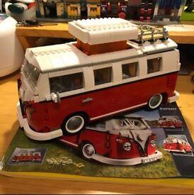Volkswagen T1 Camper Van Model Building Set