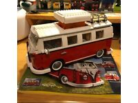 Volkswagen T1 Camper Van Model Building Set