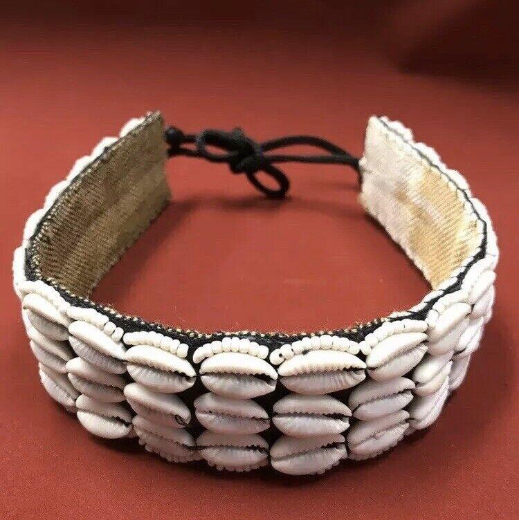 6 Piece Lot Genuine Cowry Shell Choker Necklace Wholesale Jewelry