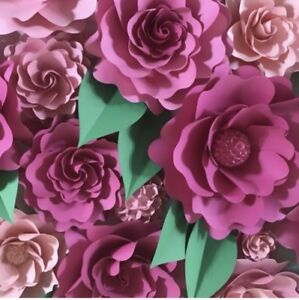 Event backdrop flower wall
