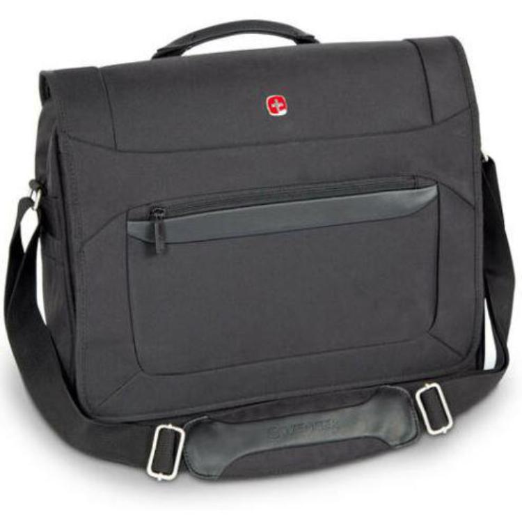 WENGER Messenger, Umhängetasche, Laptop, Akten, schwarz, W73012292