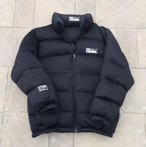 Vintage 90's First Down Puffer Jacket (Reversible)