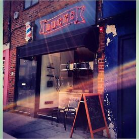 FULL TIME BARBER WANTED @ BUCKS BARBERS, EAST LONDON