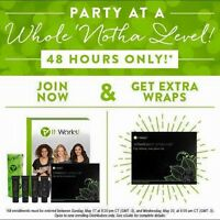 48 hours left to join and receive 2 boxes of 4 Wraps