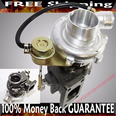 """T3T4 internal Turbo Charger AR .60 AR.63 2.5""""  V Band + oil cold Turbocharger"""