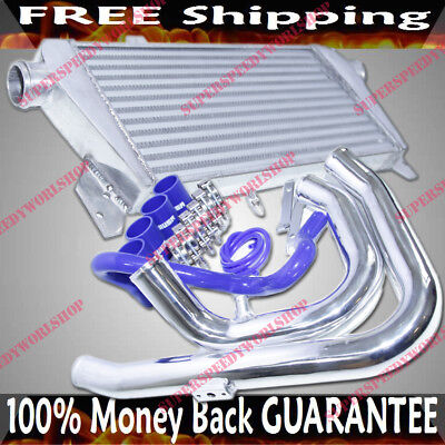 -  Intercooler&Piping Kit for 97-01 Audi A4 Quattro Base Sedan 4D 1.8T  B5 Chassis