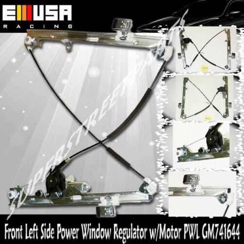 Front driver side power window regulator w motor for 00 06 for 2000 suburban window regulator