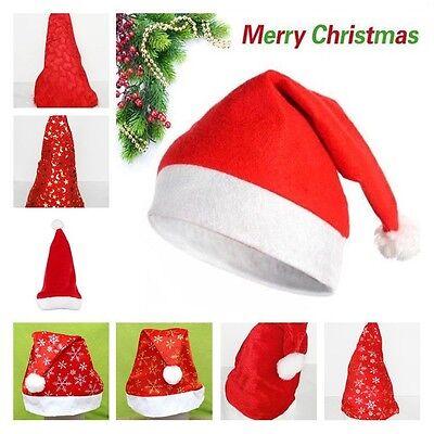 Wholesale Christmas Hats Holiday Xmas Snowflake Star Moon Cap Costume Gift 1PC - Christmas Hats Wholesale