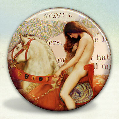 Lady Godiva Beautiful Pocket Mirror (Lady Pocket Mirror)