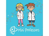 Mini Professors Science Classes for children aged 2-5, Burghfield Common, RG7, Thurs during termtime