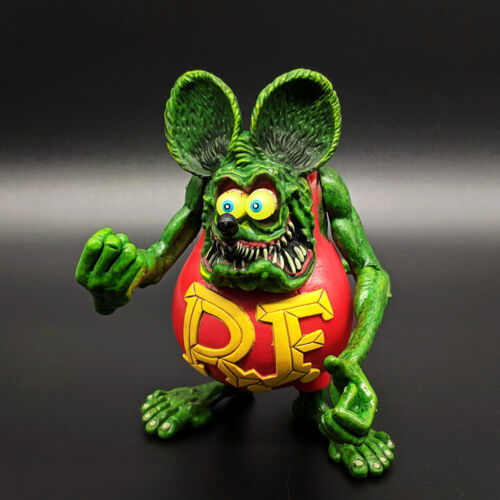 """Rat Fink Action Figure Ed """"Big Daddy"""" Roth Special Red Edition"""