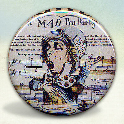 The Mad Hatter Tea Party Mirror Alice in Wonderland (The Mad Hatter Makeup)