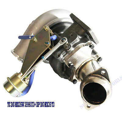 HX35W 3599373 Turbo w/Elbow for 96-98 Dodge RAM 2500 6BTAA 5.9L Diesel MTT3