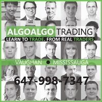 FOREX + STOCK MARKET TRADING ... LEARN & MAKE $$ with ALGOs